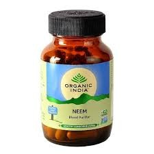 NEEM ( HERBAL ANTIBIOTIC ) - ORGANIC INDIA - ZIOŁOWY ANTYBIOTYK - ORGANIC INDIA